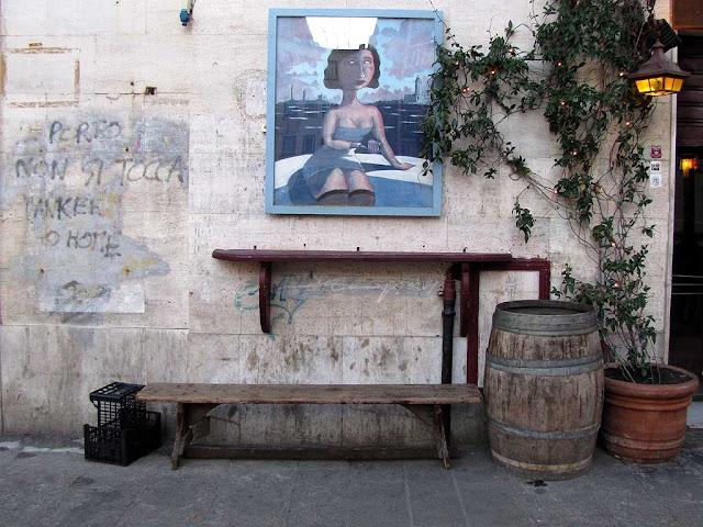 Bench in piazza Cavallotti, Livorno