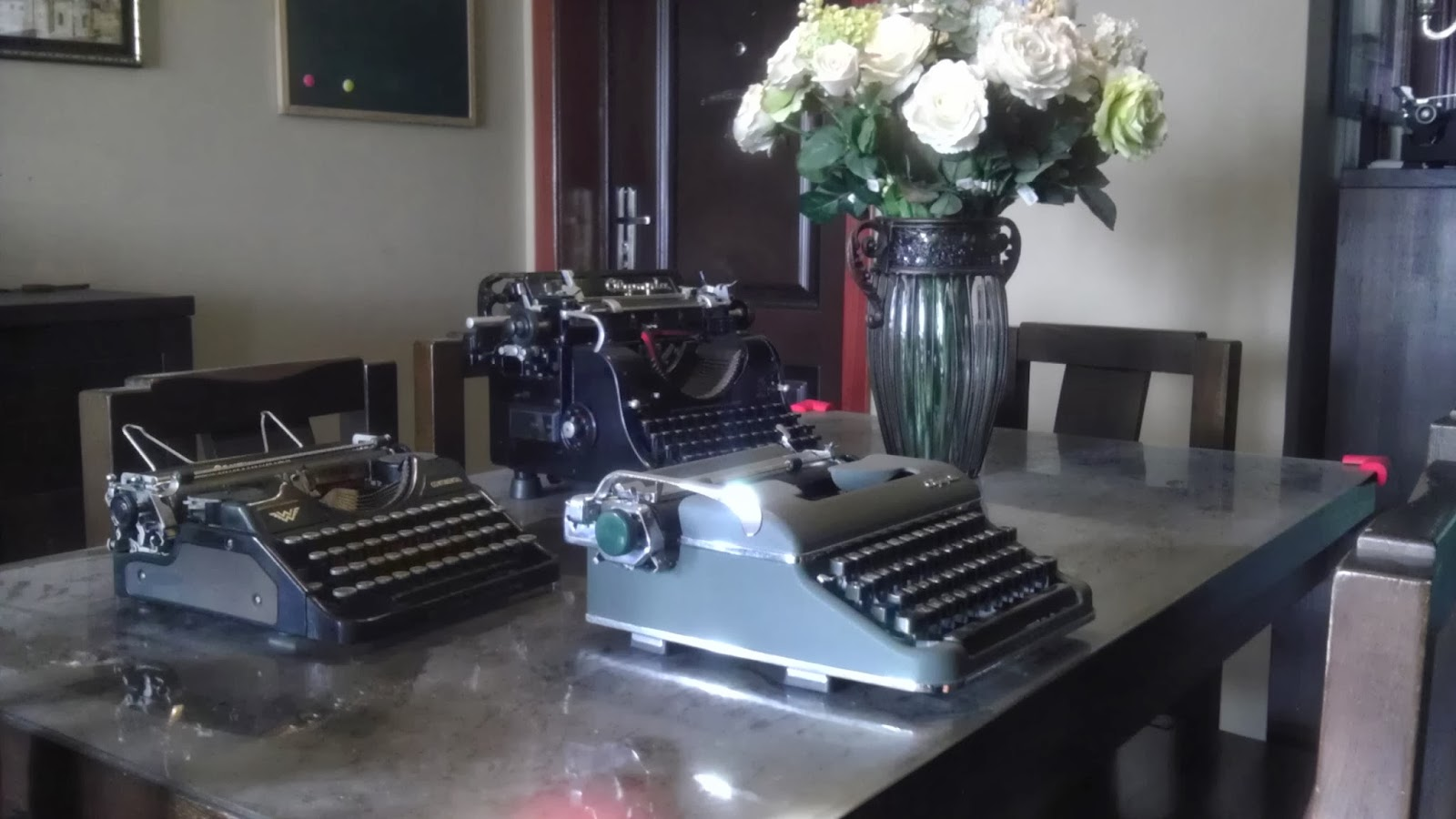 P.S. These Typewriters And My House Look So Dusty In These Pictures. Itu0027s  Not Because I Donu0027t Clean Often, The Phone Camera Sucks!