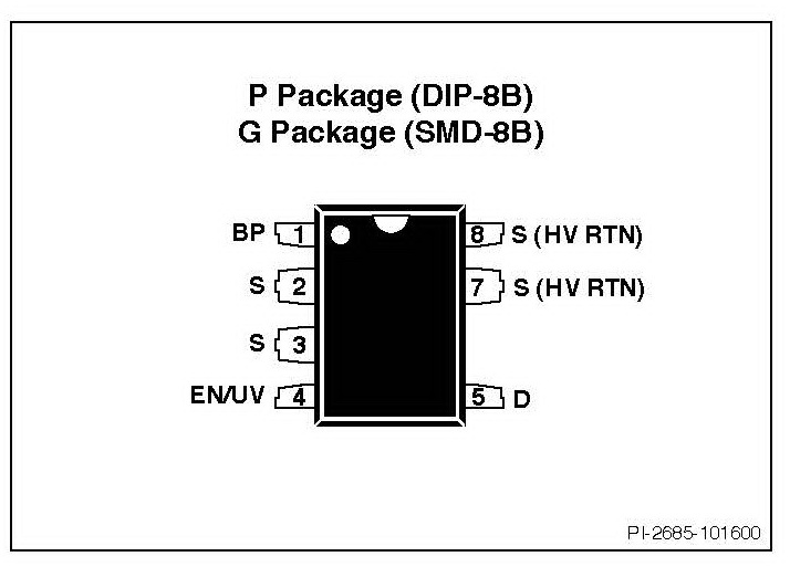 electronics part reviews  tny264gn ac  dc converters power integrations
