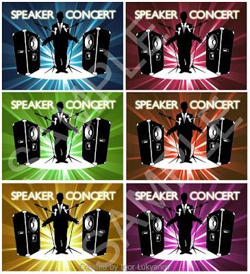 parleur concert logo