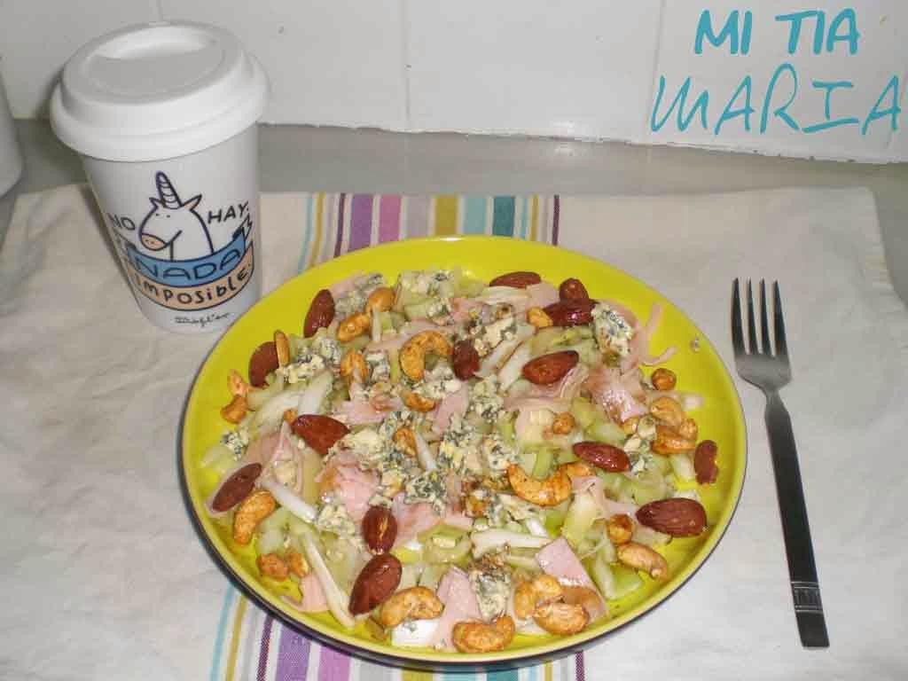 Mi tia mar a la mari cocinillas ensalada de apio y for Cancion jardin prohibido