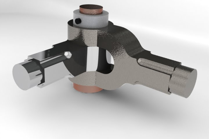 My Cad Designs Knuckle Joint 3D Model