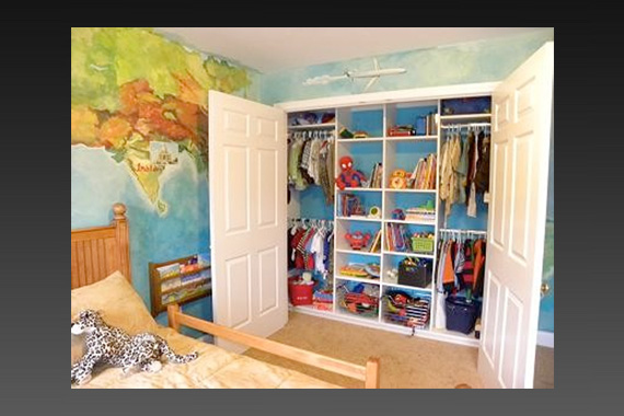 Live play twin cities small space solutions for shared for Storage solutions for toys small rooms
