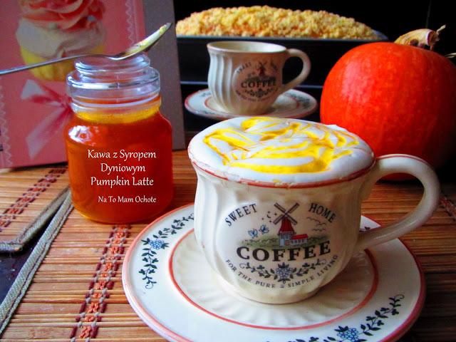 Pumpkin Latte - Kawa z Syropem Dyniowym