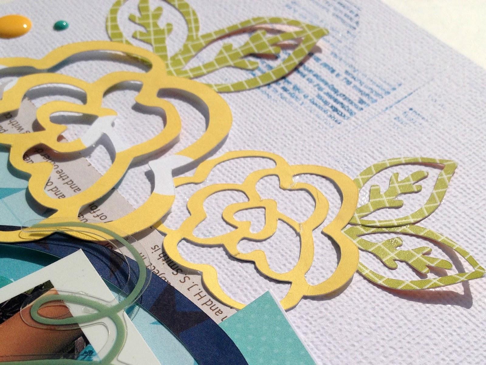 Right Now Scrapbook Page Kristine Davidson Guest Designer 17turtles Digital Cut Files