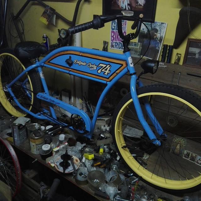 Bicicleta Café R Kustom
