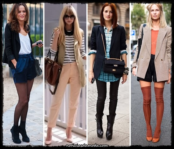 Usando Coletes - Diversos Exemplos - Noticias da Moda