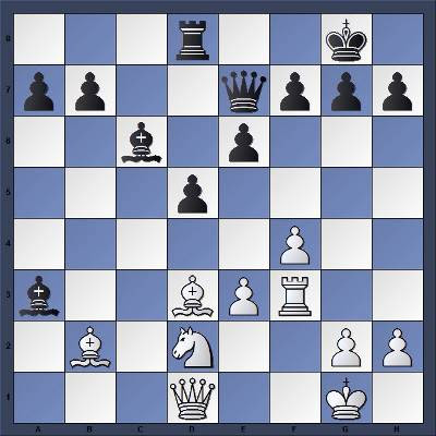 Echecs & Tactique : les Blancs jouent et gagnent en 7 coups - Niveau Fort