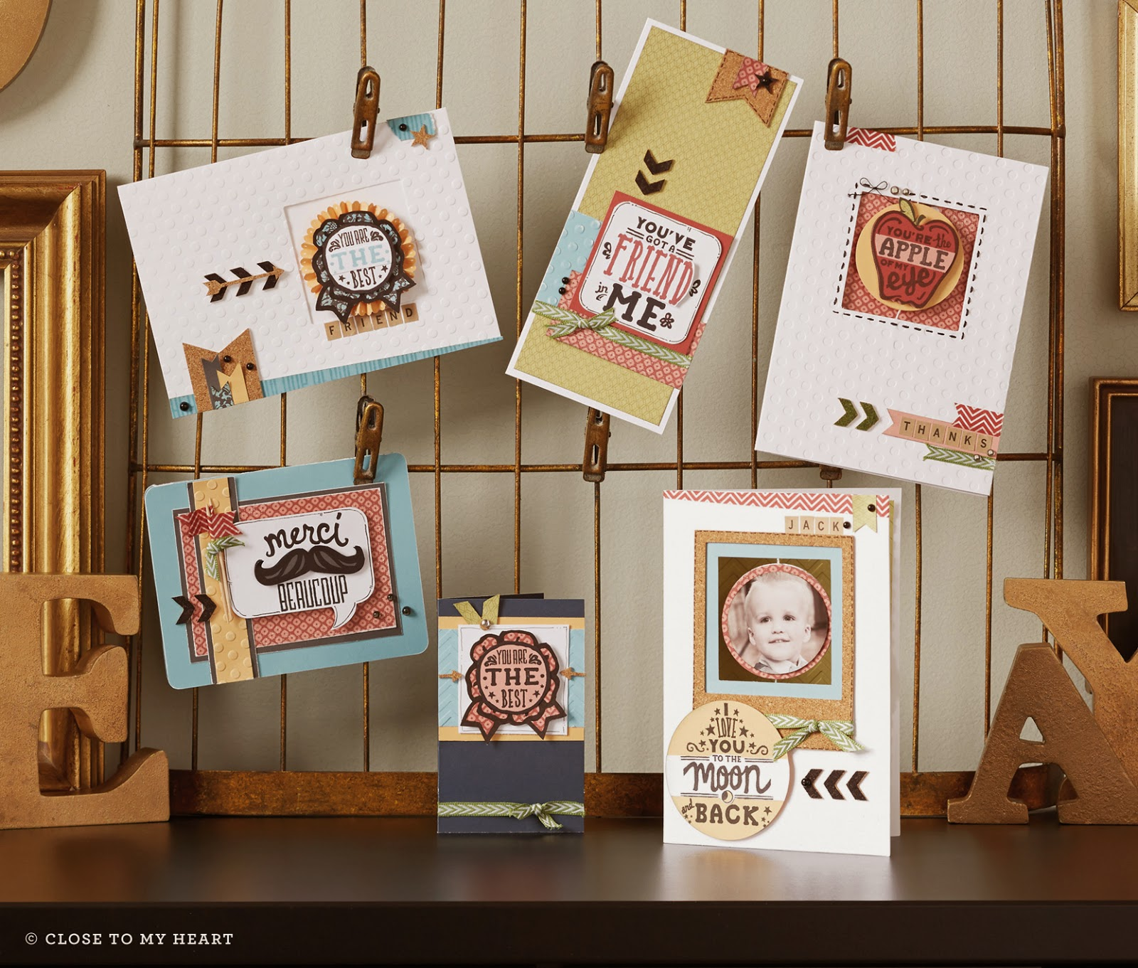 CTMH You've Got A Friend Stamp Set