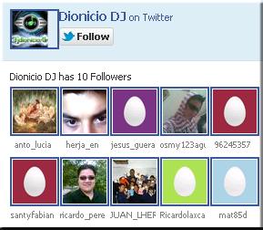 añadir o agregar la caja de seguidores twitter en blogger