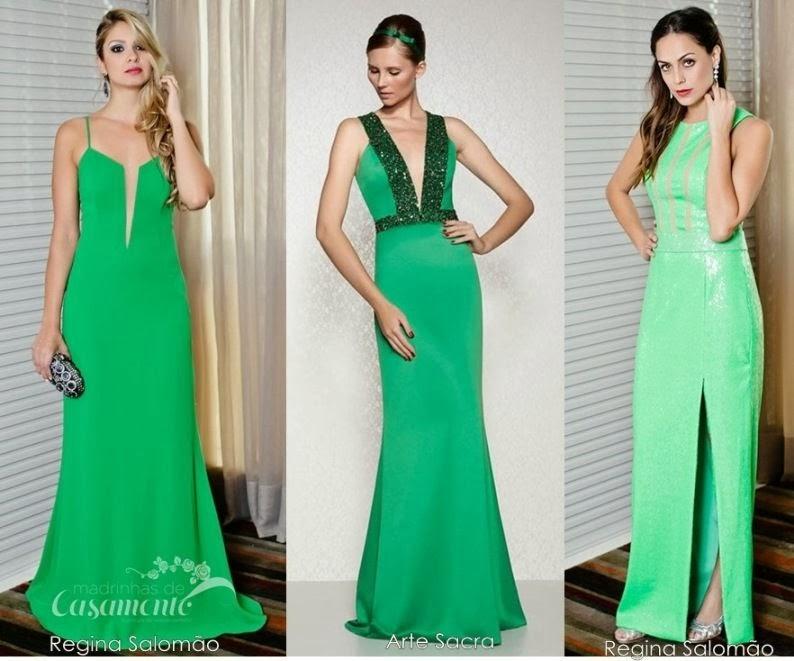 Vestido verde para convidada de casamento