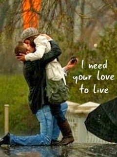 Need Your Love to Live Mobile Wallpaper  Mobile Wallpapers  Download