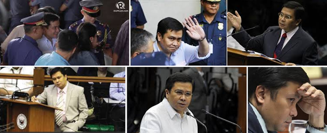 Sen. Jinggoy Estrada Surrendered