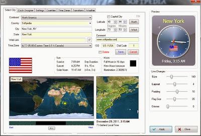 تحميل برنامج Sharp World Clock لمعرفة الساعة في أي مكان في العالم
