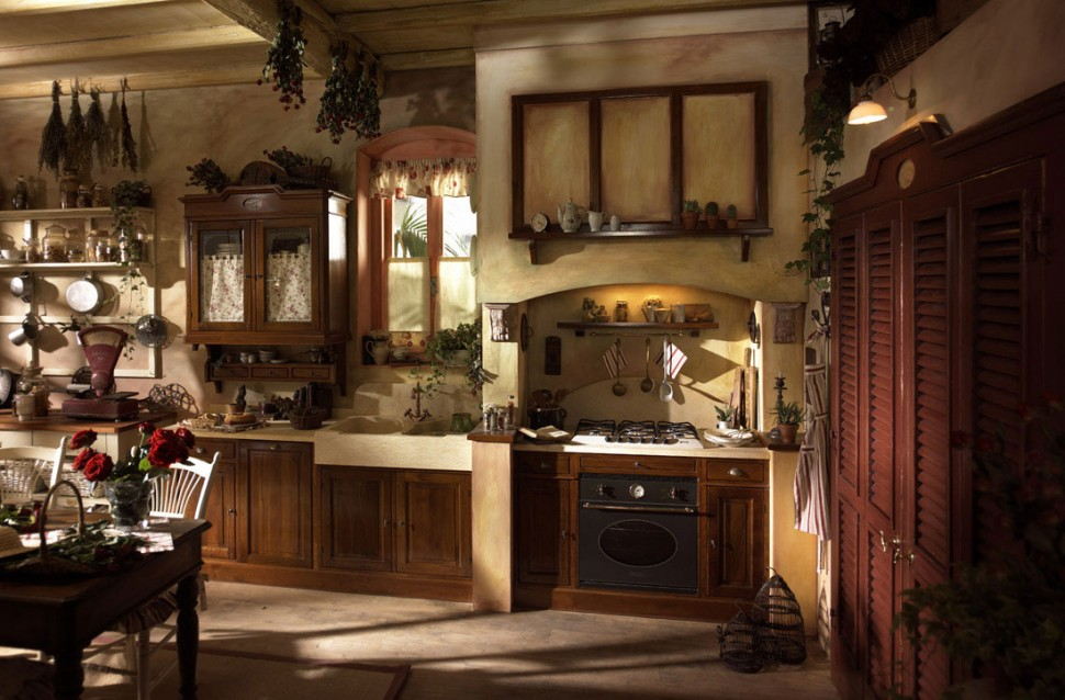 Wooden with brown color for country style interior design