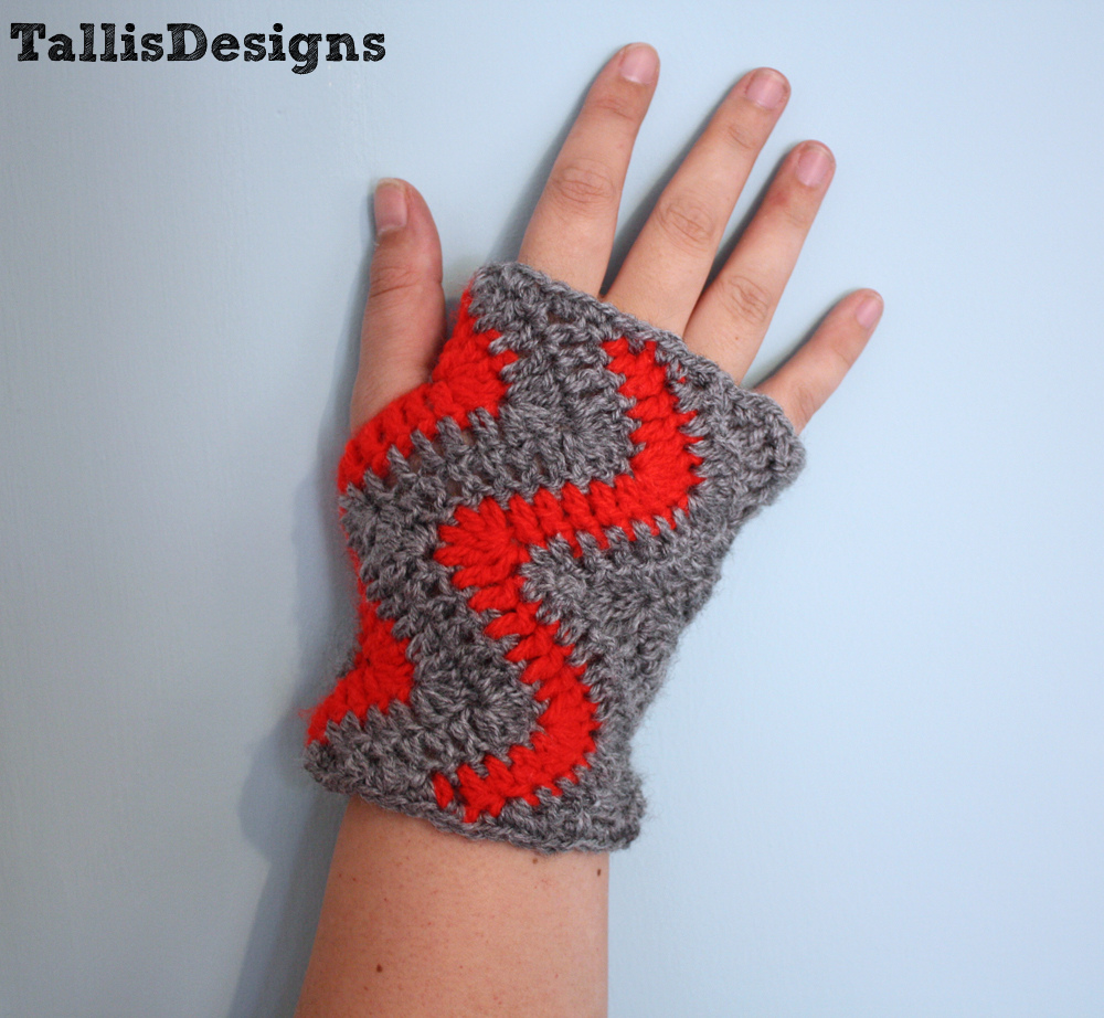 crochet gloves model-Knitting Gallery