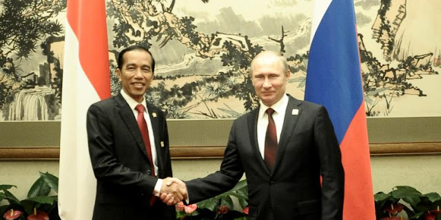 Putin Undang Jokowi Untuk Hadiri Konferensi Tingkat Tinggi (KTT) ASEAN-Rusia