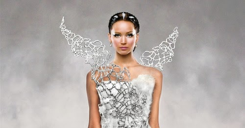 Give Me Glamour Please Katniss Everdeen Wedding Dress