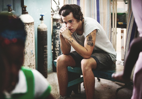 Harry Styles Crying in Ghana