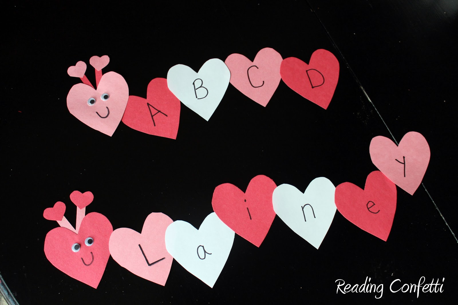 Valentine love bug craft - 2