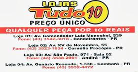 LOJAS TUDO 10