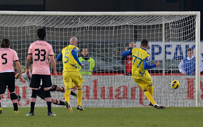 Chievo-Palermo 1-1 highlights