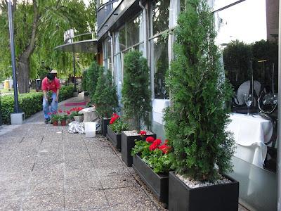 Jardineria en barrio coghlan for Adornos para plantas con llantas