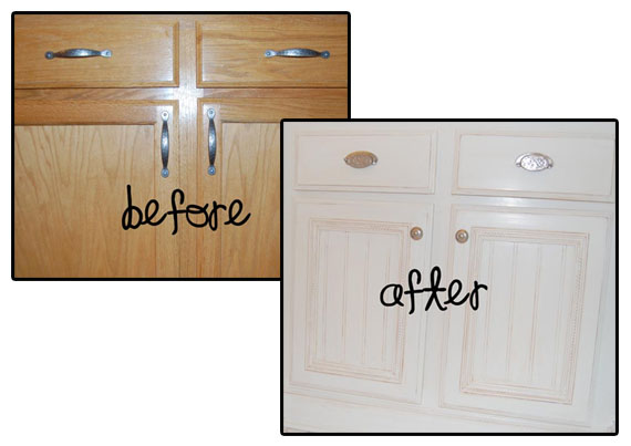 Features from last week 39 s link party sew woodsy for Attaching crown molding to kitchen cabinets