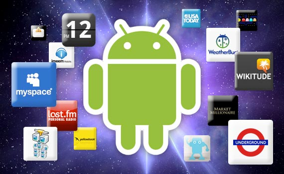 android picture with apps