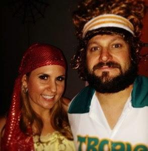 Brandi y Jarrod de fiesta