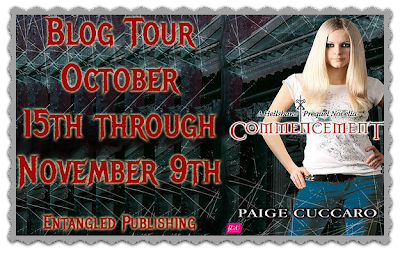 Commencement Blog Tour: Interview with Paige Cuccaro & Giveaway