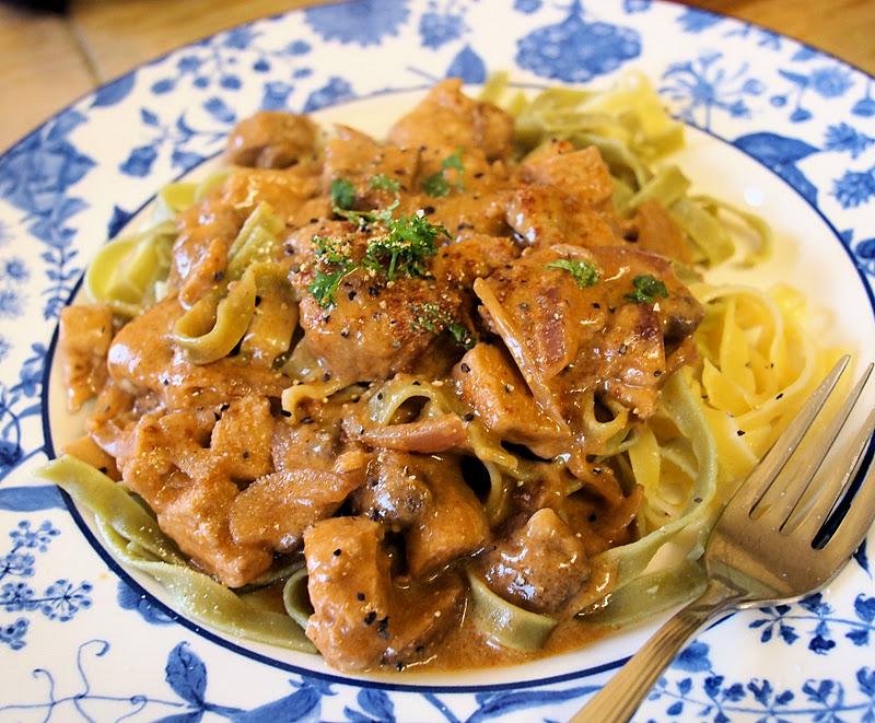 A Vegetarian Random Recipe for New Year! Mushroom ...