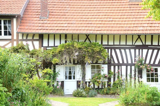 Veules-les-Roses, Normandie, France