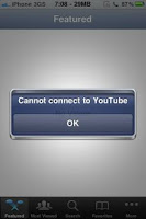 Cannot Connect to Youtube fix