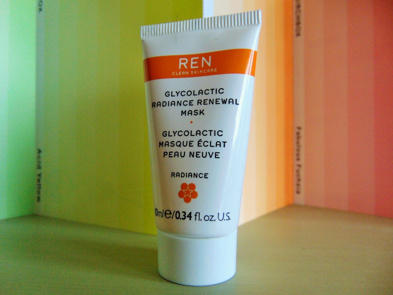Birchbox review March habitat Ren glycolactic radiance renewal mask