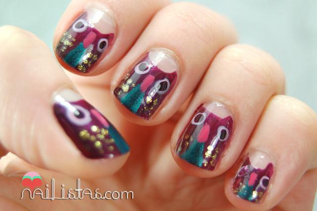 Download uñas decoradas con búhos // manicura con animales