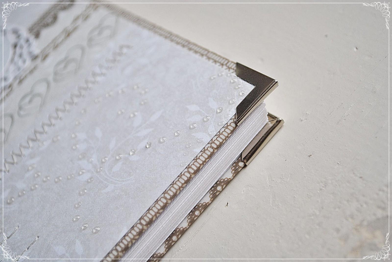 album ślubny scrapbookig