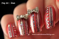 nail art 33 day challenge