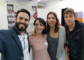 Raphael, Danielle e Dra. Fernanda Colucci