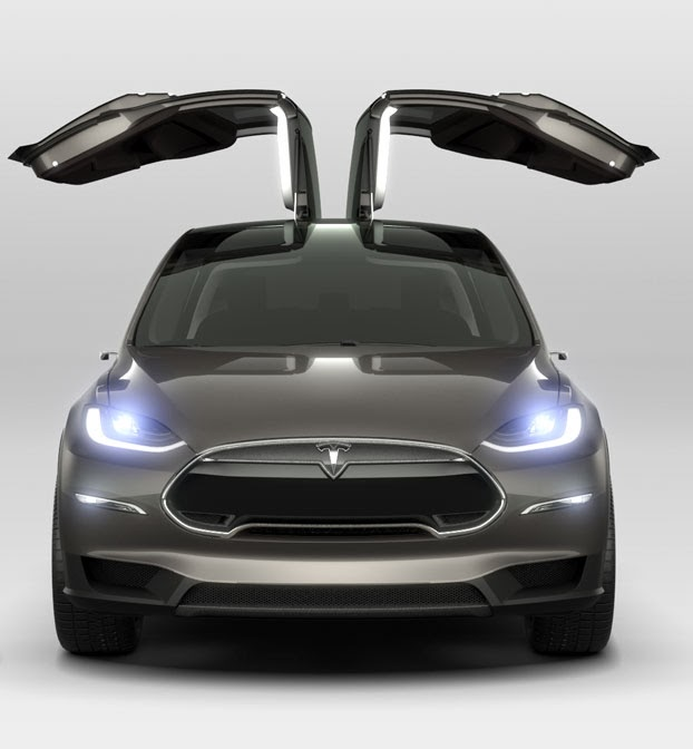 Tesla Model X SUV to electric car future