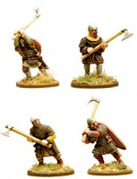 Painted Anglo Dane Huscarls with Dane Axes