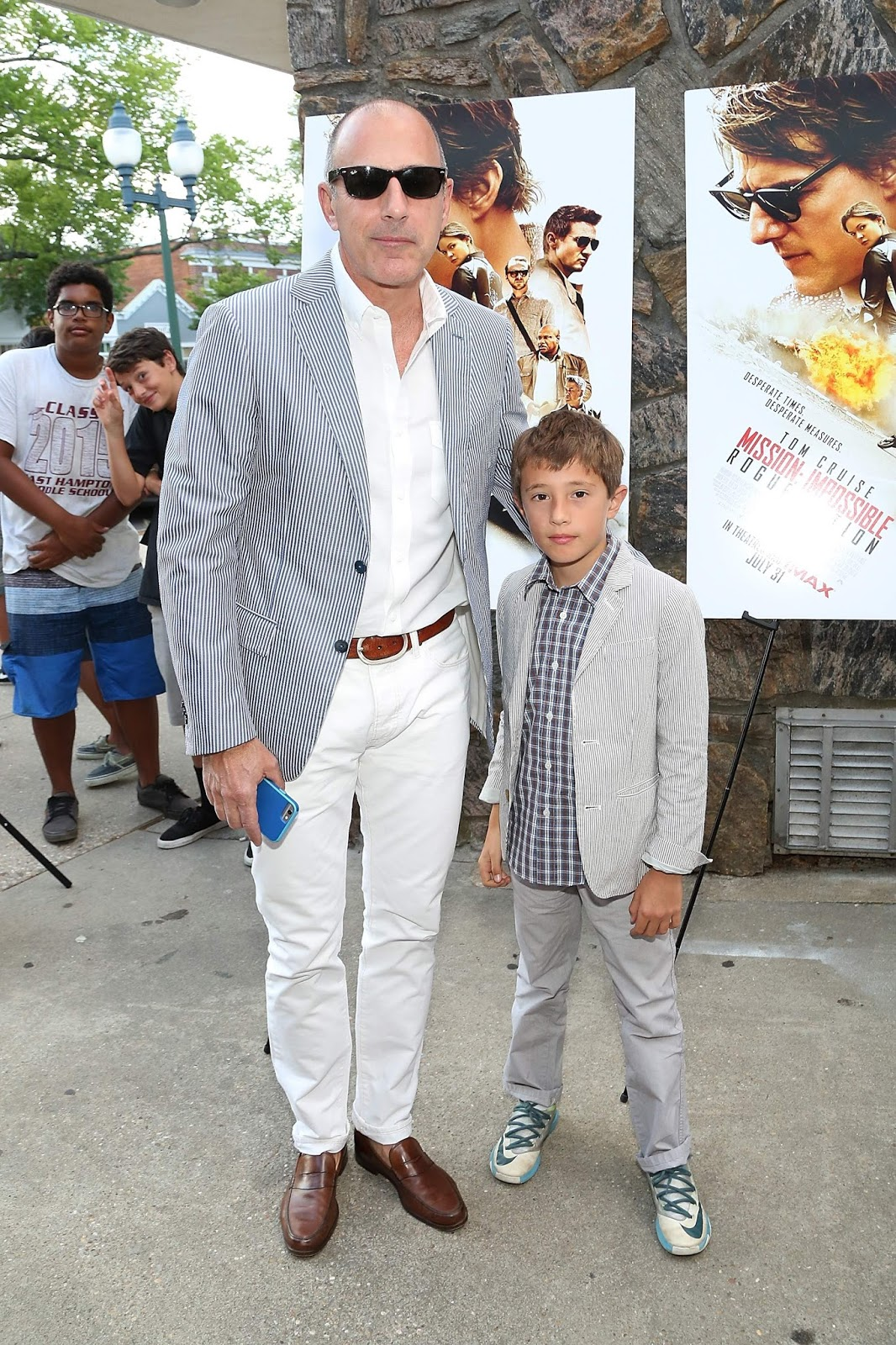 How Many Kids Does <b>Matt</b> <b>Lauer</b> Have? - Ages
