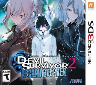 Shin Megami Tensei: Devil Survivor 2 Record Breaker USA 3DS GAME [.3DS]