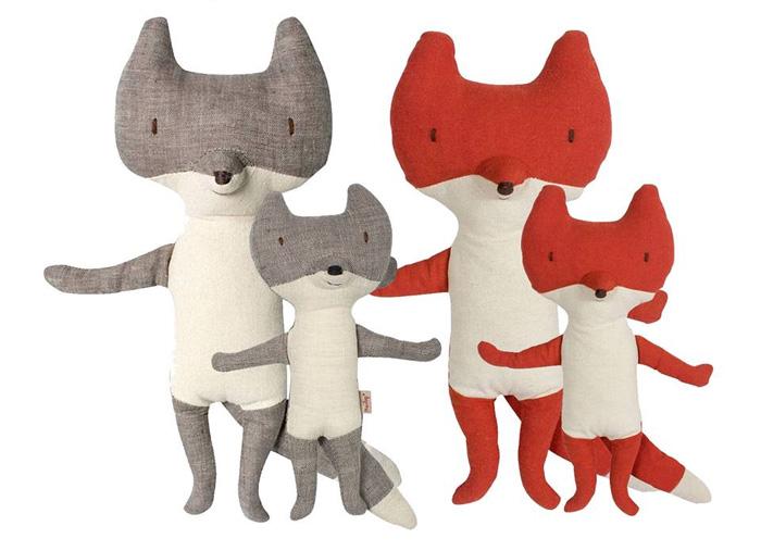 Maileg wolf & fox