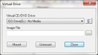 Cara Menggunakan File Virtual Disc Image dari Explorer (mounting)