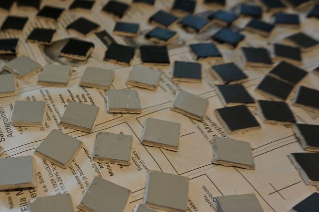 Ohje - DIY mosaiikkipalat