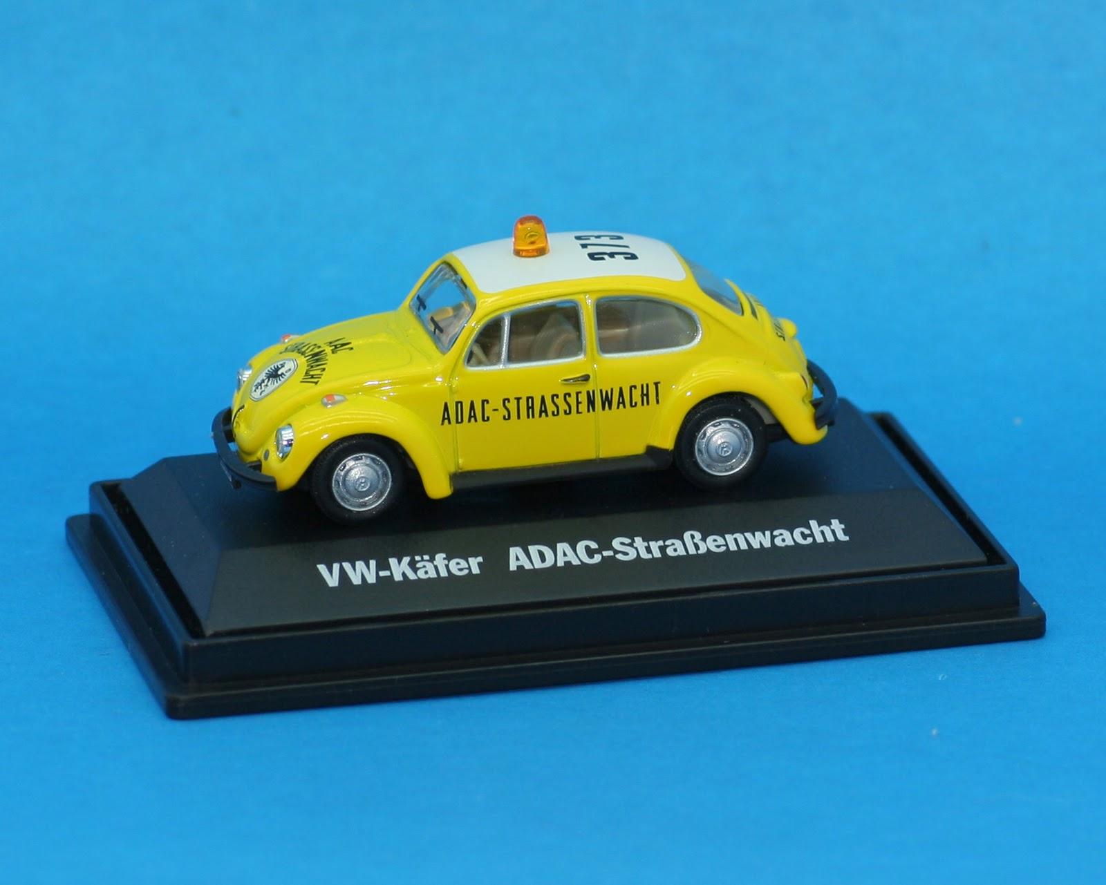 incredible mini garage volkswagen beetle 1972 strassenwacht 1 72 schuco. Black Bedroom Furniture Sets. Home Design Ideas