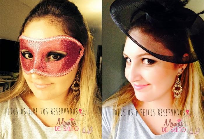 máscara feminina e tiara casquete lojas americanas blog Mamãe de Salto => todos os direitos reservados