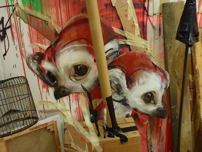 herakut, muca, Installation, Streetart