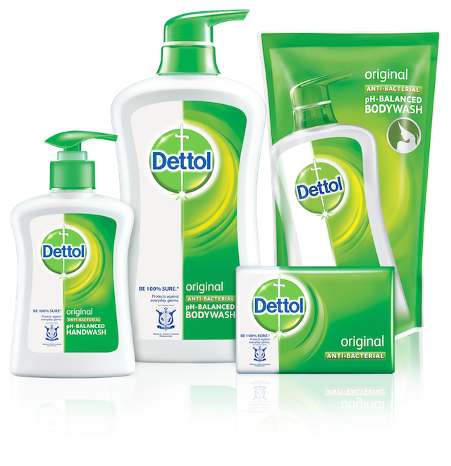 Dettol range of products